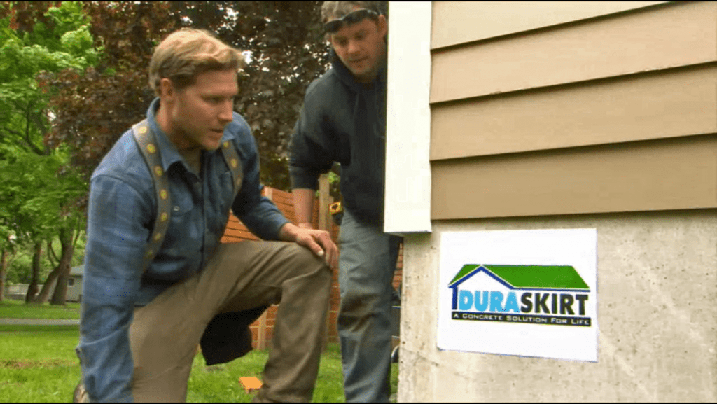 Tiny House Nation - Duraskirt Concrete Skirting Board