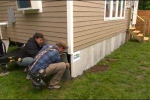 DURASKIRT™ Skirting installed on Tiny House Nation
