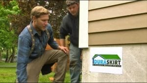 Zack Griffin - Duraskirt™ Mobile Home Skirting Installation