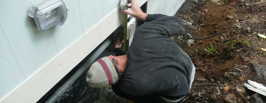 professional mobile home re-leveling experts