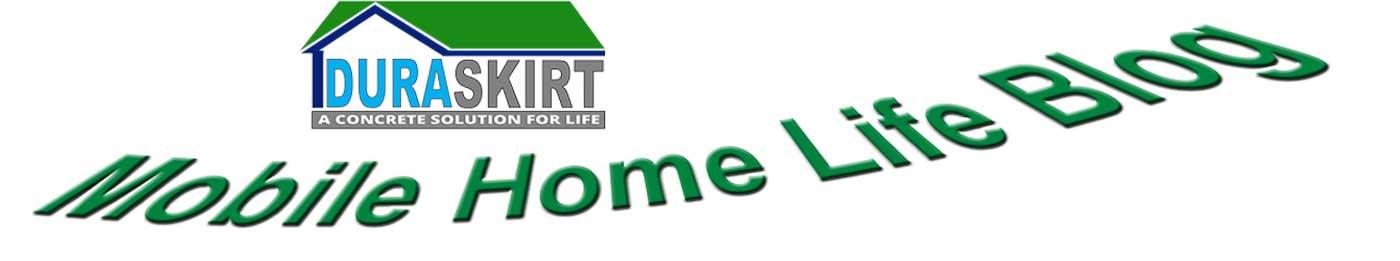 DURASKIRT™ mobile home underpinning, mobile home skirting