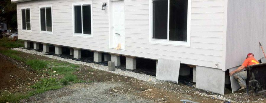 mobile home skirting