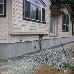DIY manufactured home skirting