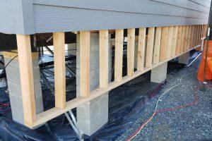 Raised House Skirting Ideas