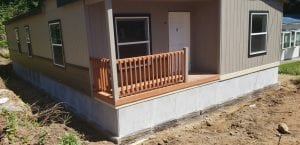 modern deck skirting