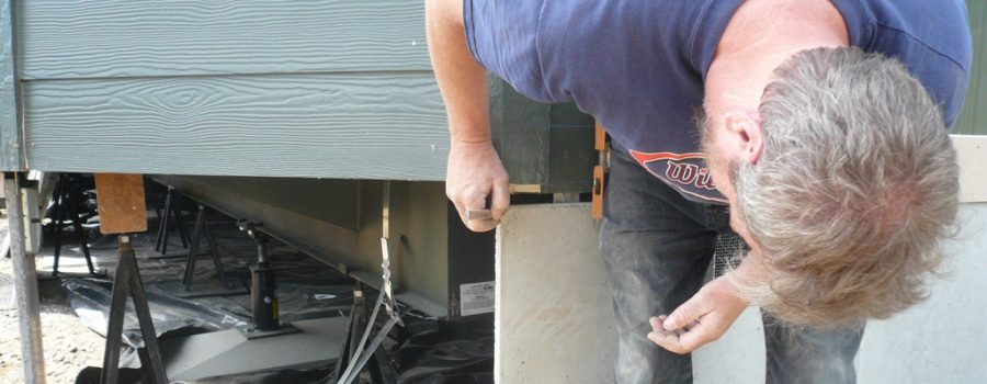 Installing-Concrete-Board-on-an-Uneven-House-or-Shed