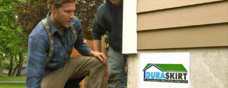 Choose Mobile Home Skirting Kits from DURASKIRT™ for House Skirting